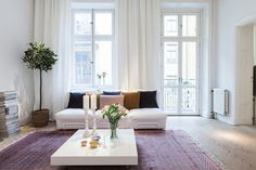 Casa Vik: Hänga långa gardiner