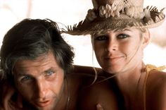 Brigitte Bardot and Gunther Sachs on honeymoon in Tahiti
