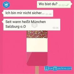 Lustige WhatsApp Bilder und Chat Fails 167 - Wo bist du?