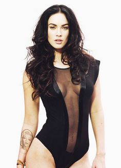 Black Lycra and Mesh Catsuit worn By Megan Fox. Buy your Catsuit for dance from DCUK Dance Clothes.