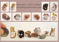 mini hamsters
