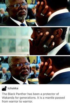 King t'challa of Wakanda, King t'chaka of Wakanda, black panther, cacw, captain America civil war, marvel, mcu, avengers