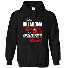 OKLAHOMA-MASSACHUSETTS Girl 05Red - #oversized shirt #geek tshirt. OBTAIN => https://www.sunfrog.com/States/OKLAHOMA-2DMASSACHUSETTS-Girl-05Red-Black-Hoodie.html?68278