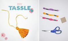DIY Tassel Craft Project for Kids   Studio T Blog