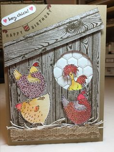 Stampin' Up! - Hey, Chick