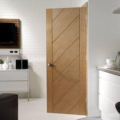 Monza Oak Door #designerdoor #contemporarydoor #directdoor
