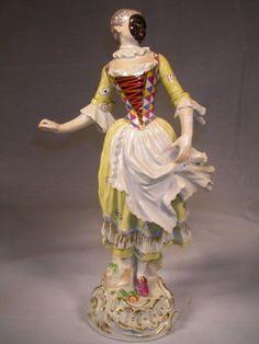 Harlequin Figurines, Fancy Dresses, Porcelain Harlequin, Meissen Figurines, Meissen Porcelain, 18Th Century, Antiques Porcelain, Beautiful Porcelain, ...