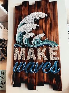 Decorate Your Home With Home Decor And Craft! - Decorate Your Home With Home Decor And Craft! Decorate Your Home With Little Touches And Crafts! Diy And Crafts, Kids Crafts, Arts And Crafts, String Art Diy, String Art Quotes, String Art Tutorials, String Art Heart, String Crafts, Diy Vintage