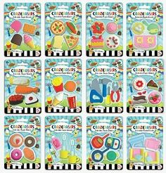Crazerasers Collectible Puzzle Erasers Series 1 - Random Style by Fashion Angels. $6.24. No PVC. 4 Pieces Per Package. Collectible Puzzle Erasers. Random Style Per Order. Brand new