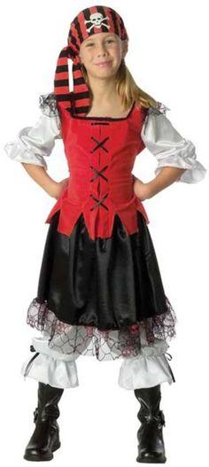 Sassy Pirate Girl Kids Costume