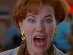 "Kate McAllister (Catherine O'Hara) in ""Home Alone 2: Lost in New York"""