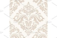 Oriental vector pattern with damask, arabesque and floral elements. Damask Patterns, Fashion Graphic Design, Arabesque, Vector Pattern, Abstract Backgrounds, Oriental, Tapestry, Floral, Decor