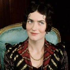 Anna Chancellor as Miss Bingley in the 1995 Pride and Prejudice. Perfect for the part - and a distant relativeof dear Jane's herself!
