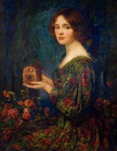 Thomas Edwin Mostyn ~ Landscape/Genre painter