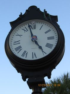 clock in Key West, Fl