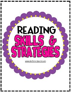 Included in this packet: 19 Skills and Strategies posters for you to use on your weekly Focus Wall or post them on your Reading Wall. Posters Inclu...