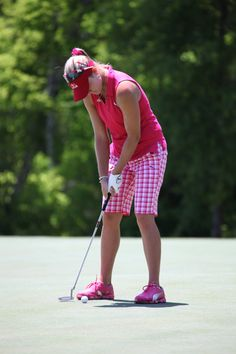 All pink! #pumagolf #lexi #athletes