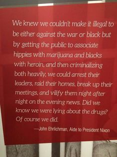 """theazurerat: """" luvrly: """" humansoflatecapitalism: """"𝖜𝖉𝖙𝖍𝖙𝖉𝖜𝖈 """" Never forget that the War on Drugs was fabricated to criminalize certain communities. """" The War on Black People The War on Anti-War Activism """" War On Drugs, The More You Know, Social Issues, Mood, Oppression, Social Justice, Food For Thought, Thought Provoking, Socialism"""