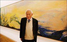 Zao Wou-Ki, who has died aged 92, was a leading Chinese artist adopted by the art world in post-war Europe. His canvases, which have fetched more than