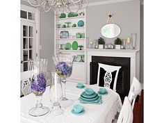Let a Favorite Collection Take Center Stage - Home and Garden Design Idea's