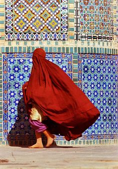 Visitor in Mazar Sharif Afghanistan