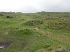 In the middle of Penhale Sands, not easy to locate, is the site of St. Piran's Oratory, built in the 6th century by St. Piran, who is generally regarded as the patron saint of Cornwall