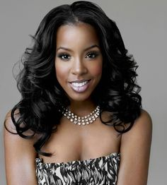 Kelly Rowland hair & makeup