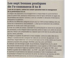 Article paru dans e-commercemag. Avril 2012