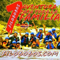 Una #aventura para toda la #familia en #filobobos http://www.filobobos.com
