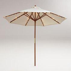 String Lights Under Umbrella : RAMSo Parasol, gr?n, stribet - 125 cm - IKEA I wish - home Pinterest Green stripes
