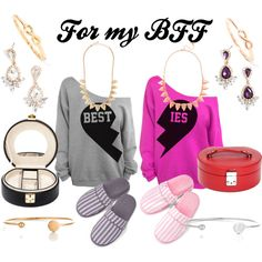 """BFF Gift Ideas!"" by baublebarswat on Polyvore"