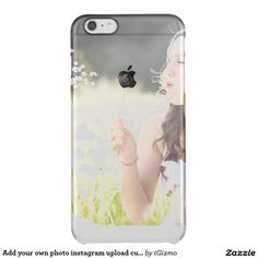 Add your own photo instagram upload custom clear uncommon clearly™ deflector iPhone 6 plus case
