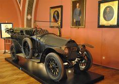 The touring car Archduke Franz Ferdinand was assassinated in on June 28, 1914. (euro-t-guide.com)