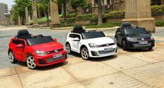 Let Your Kids Drive With Ride-On Electric VW Golf GTI