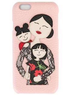 fb21ca81a727 Dolce   Gabbana Family Patch iPhone 6 Case - Farfetch