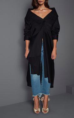 M'O Exclusive Ringo Cotton Poplin Oversized Shirt by JOHANNA ORTIZ Now Available on Moda Operandi