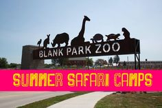 Looking for a fun Summer camp option for your kiddo. Check out the many options at the Blank Park Zoo.