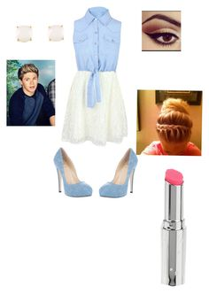"""Date with niall read my comment"" by i-love-niall-horan-4457 ❤ liked on Polyvore featuring interior, interiors, interior design, home, home decor, interior decorating, Crisian & McCaffrey, Kate Spade and Topshop"
