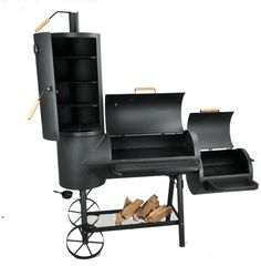 on the grill | XXL BBQ Smoker Grill Holzkohlegrill Barbecue Grillkamin | eBay