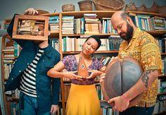 Kiko Dinucci, Juçara Marçal e Thiago França formam o trio Metá Metá: mistura de ritmos africanos e latinos ao jazz (Foto: Divulgação)