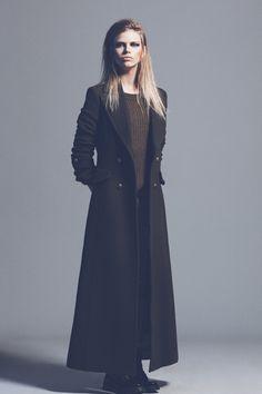 editorial de moda tendencias otoño-invierno 2012-13: abrigo de Mango