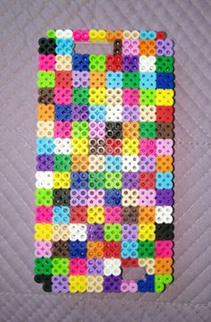 My perler bead phone case