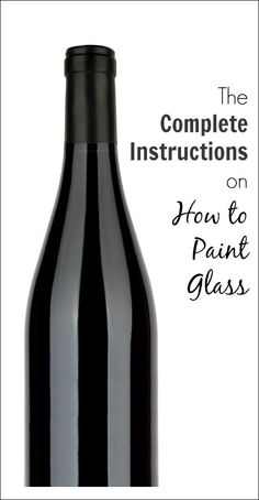 instructions on how to paint glass                                                                                                                                                                                 More