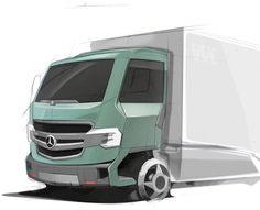 Light Truck Mercedes-Benz (IED+MB) work-in-progress
