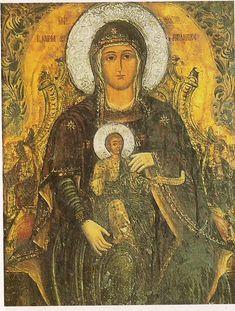 Orthodox Icons, Virgin Mary, Crete, Ikon, Madonna, Mona Lisa, Angel, Artwork, Painting