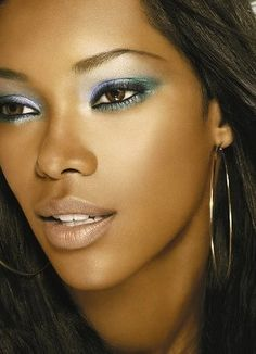 ...she would definitely be in a colour cosmetics spread.