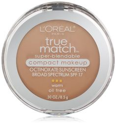 L'Oreal Paris True Match Super-Blendable Compact Makeup, Nude Beige, 0.30 Ounces by L'Oreal Paris - http://on-line-kaufen.de/lor-al-paris/loreal-paris-true-match-super-blendable-compact-0-3