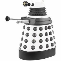 Dalek Paradigm Figures - White Supreme Dalek by Underground Toys. $19.58. Many years ago, the Daleks sent out thousands of egg-shaped Progenitors containing the genetic coding of the race, so that new Daleks could be created whenever necessary. One of these Progenitors was found in war-torn England during the Second World War and transported to a Dalek ship. However, because the Daleks that found it had been genetically modified by their creator Davros, using his own DNA, the Pro...