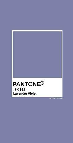60 Pantone Color Palettes : Pantone Lavender Violet 17-3924 #pantone #color #lavender #purple Pantone Swatches, Color Swatches, Pantone Colour Palettes, Pantone Color, Colour Pallete, Colour Schemes, Pantone 2020, Color Harmony, Purple Aesthetic