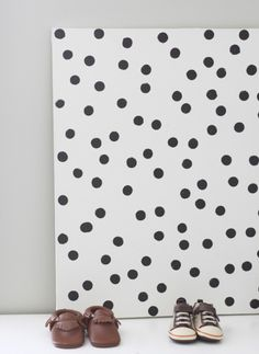 DIY dotted art by With an i.e.
